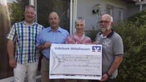 Spendenübergabe des Rotary Club Bad Nauheim-Friedberg